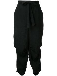tie fastened trousers Aleksandr Manamïs