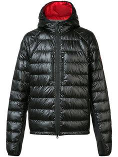 thumb holes hooded jacket Canada Goose
