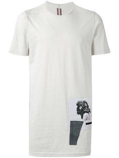 футболка с заплатками Rick Owens DRKSHDW