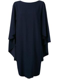 объемное платье Alberta Ferretti