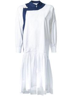 платье шифт с кисточками Antonio Marras