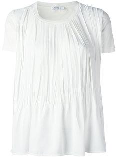 драпированная футболка Jil Sander