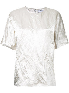 футболка с жатым эффектом Jil Sander