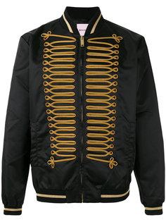куртка бомбер с вышивкой Palm Angels