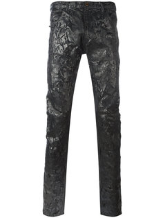 брюки с покрытием Jil Sander