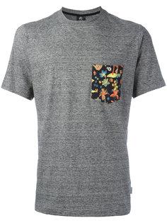 футболка с принтом на кармане Ps By Paul Smith