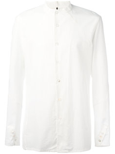 одноцветная рубашка Masnada