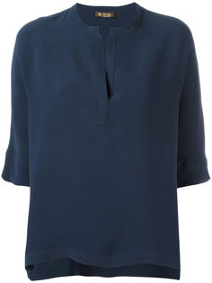 блузка с вырезом Loro Piana