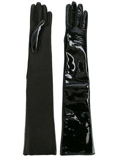 блестящие перчатки Manokhi