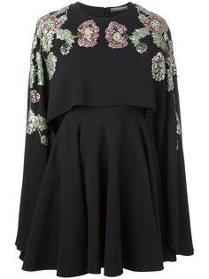 декорированное платье Alexander McQueen
