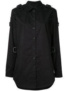 рубашка с петлями Mm6 Maison Margiela