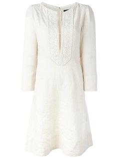 платье с цветочной аппликацией Isabel Marant