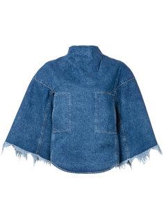 джинсовая блузка с нагрудными карманами Toga