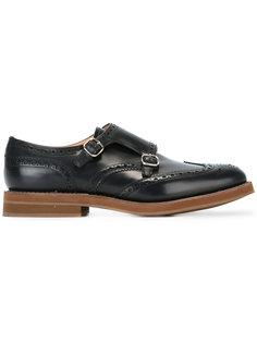 туфли-монки с пряжками Churchs