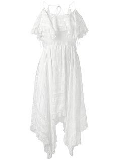 асимметричное платье с оборками  Philosophy Di Lorenzo Serafini