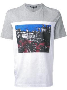 футболка с контрастными панелями Markus Lupfer