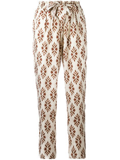 diamond print trousers Forte Forte
