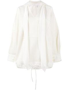 свитер мешковатого кроя с V-образным вырезом Chloé