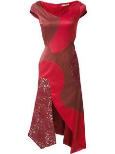 panelled midi Heli dress Martha Medeiros
