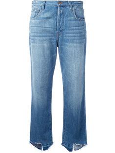укороченные джинсы с завышенной талией Ivy J Brand