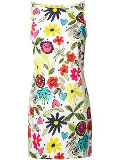 платье-шифт с цветочным принтом Trina Turk