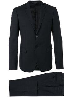брючный костюм с клапанами на карманах  Emporio Armani