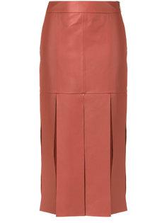 leather skirt Giuliana Romanno