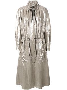 пальто с отделкой металлик Isabel Marant