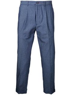 укороченные брюки с мелким узором Guild Prime
