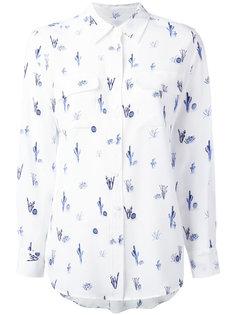 рубашка с принтом кактусов Equipment