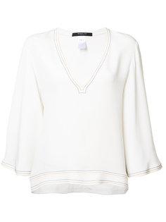 V-neck shift blouse Derek Lam