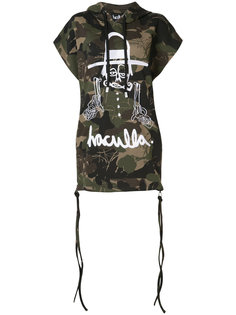 camouflage print sleeveless hoody Haculla