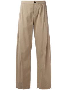 укороченные расклешенные брюки Stephan Schneider