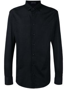 фактурная рубашка Emporio Armani