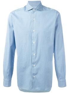 рубашка со складками у манжетов Barba
