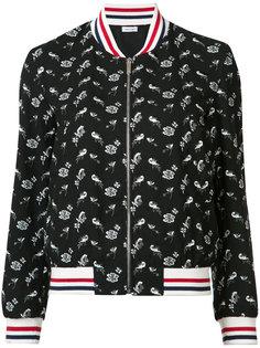 куртка-бомбер с принтом Thom Browne