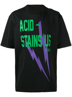 футболка Acid Stains  Haider Ackermann