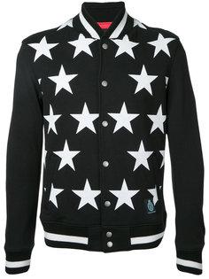 куртка-бомбер со звездами Guild Prime
