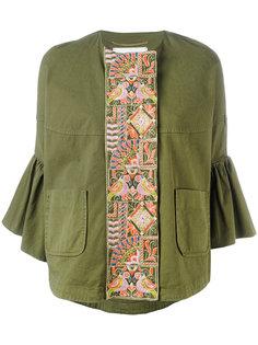 Пиджак с рукавами-клеш и вышивкой  Bazar Deluxe