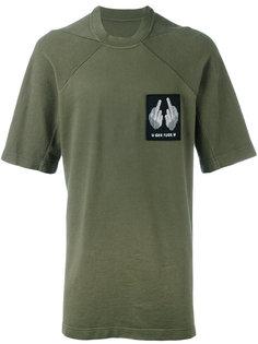 футболка с нашивкой на груди 11 By Boris Bidjan Saberi