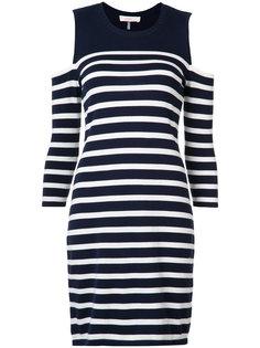 cold shoulder stripe dress Trina Turk