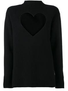 свитер с вырезом в форме сердца Proenza Schouler