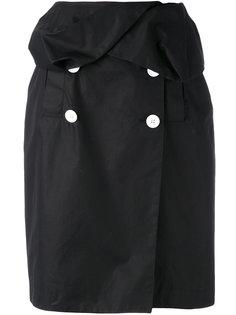 юбка-карандаш с контрастными пуговицами Proenza Schouler