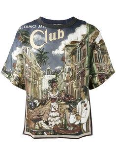 футболка Palermo Jazz Club Dolce & Gabbana