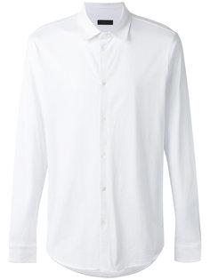 рубашка с закругленным подолом Z Zegna
