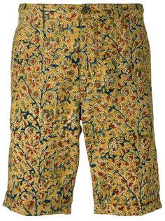 шорты чинос с цветочным узором Incotex