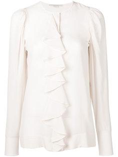 блузка с рюшами Stella McCartney