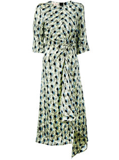 асимметричное платье длины миди Marni