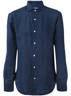 slim-fit shirt Barba