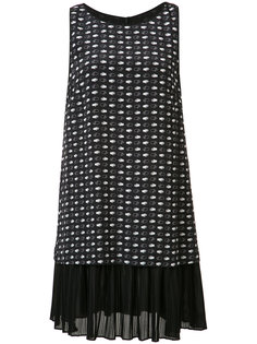 платье с принтом рук Grey Jason Wu